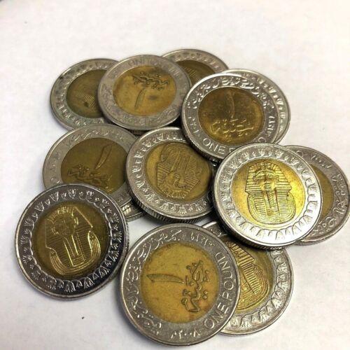 KM#940a KING TUT Pharaoh Egyptian Mummy coin Egypt 1 Pound 2005-2018 type
