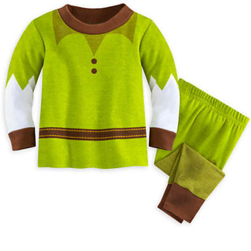 Disney Store Peter Pan PJ PALS for Baby Size 6 9 12 18 24 months NWT