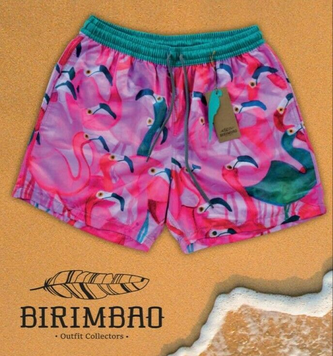Men Swim Shorts Swimwear Swimming Trunks colorful Pants