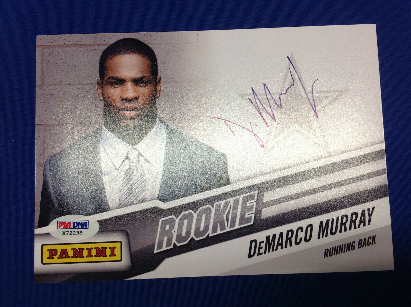 DeMarco Murray Dallas Cowboys Signed 5x7 Photo - PSA/DNA # X72238
