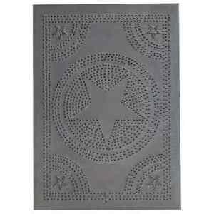 Regular-STAR-Tin-Panel-in-Blackened-Tin