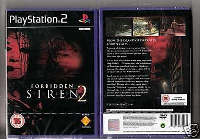 Forbidden Siren 2 Sony Playstation 2 2006 For Sale Online Ebay