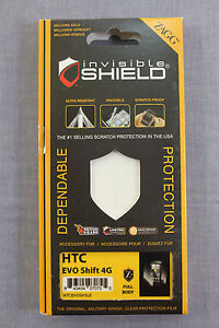 HTC-EVO-SHIFT-4G-ZAGG-MILITARY-FULL-BODY-Invisible-Protective-Shield-NEW
