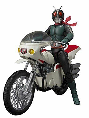 S.H. Figuarts Kamen Rider No.2 & Cyclone (remodelage ver.) jeu sur 140 mm