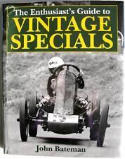 THE ENTHUSIAST'S GUIDE TO VINTAGE SPECIALS JOHN BATEMAN, MOTORSPORT CAR BOOK