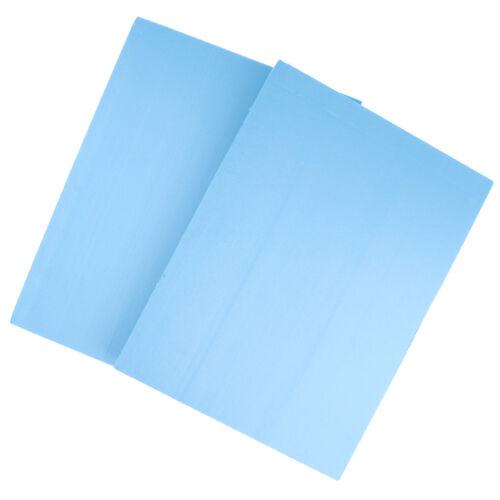 2x High Density Foam Board Model Base Plate Sand Table Model 29.5x39.5x2cm
