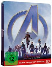 Artikelbild Avengers: Endgame Steelbook Limited Edition 3D Blu-ray + 2D + Bonus Disc NEU OVP