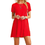 Women-039-s-Casual-Short-Sleeve-Solid-Loose-Tunic-Top-Shirt-Blouse-Dress-Plus-Size thumbnail 6