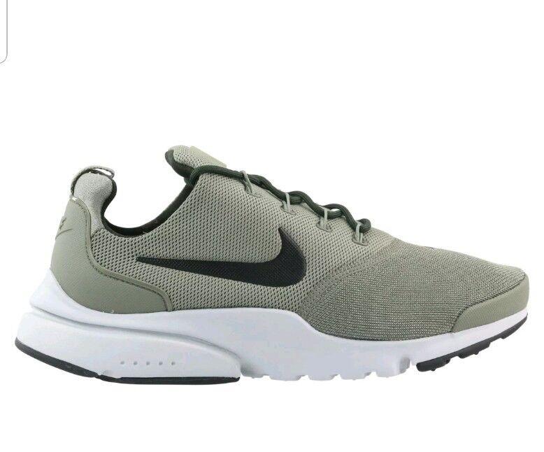 Nike Presto Fly Men's boys khaki vert trainers Chaussures Baskets 8  Taille 8 Baskets eur 42.5 4e9b39