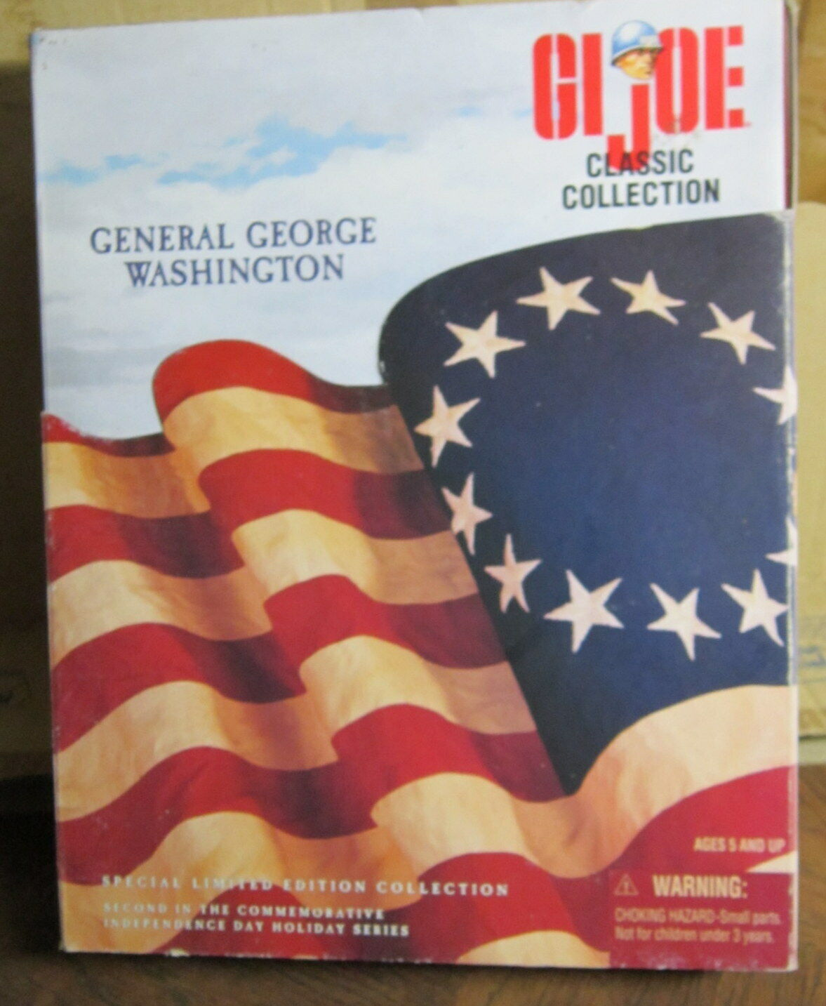 1 6 30cm 12  GI JOE ACTION Uomo GENERAL GEORGES WASHINGTON CLASSIC COLLECTION