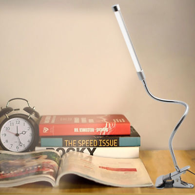 Neu Klemmlampe Leselampe Klemmleuchte  Tischleuchte Büroleuchte LED Tischlampe