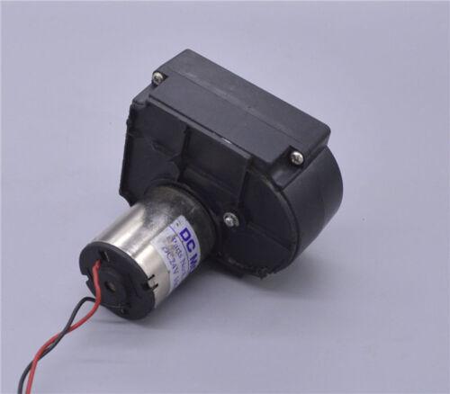 Micro 7-Type Slow Speed Gear Motor DC 12V 24V 100RPM Large Torque Generator Tank
