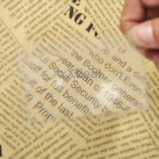 Full Page Magnifying Sheet 3X Magnifier Lens Reading Books Glass Vision Loupe X