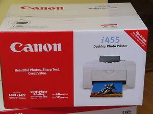 Canon i455 Printer Driver