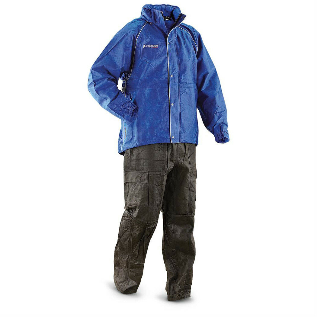 Frogg Toggs T1039113 Mens Tekk Toad Waterproof Rain Suit FAST FREE USA SHIPPING