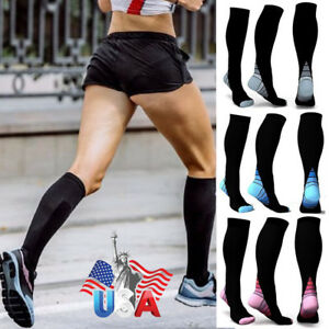 db26f755aaf Compression Socks Sports Men Women Calf Shin Leg Sleeve Running ...