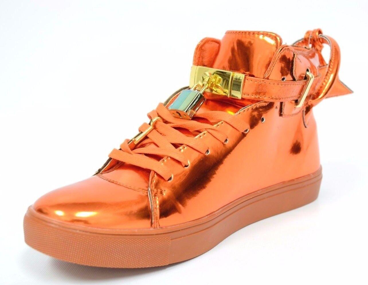 Scarpe casual da uomo  uomos Fiesso Orange Sneakers High Top Boots by Aurelio Garcia Sneakers FI2247