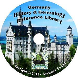 52-old-books-GERMANY-History-amp-Genealogy-German-Germans