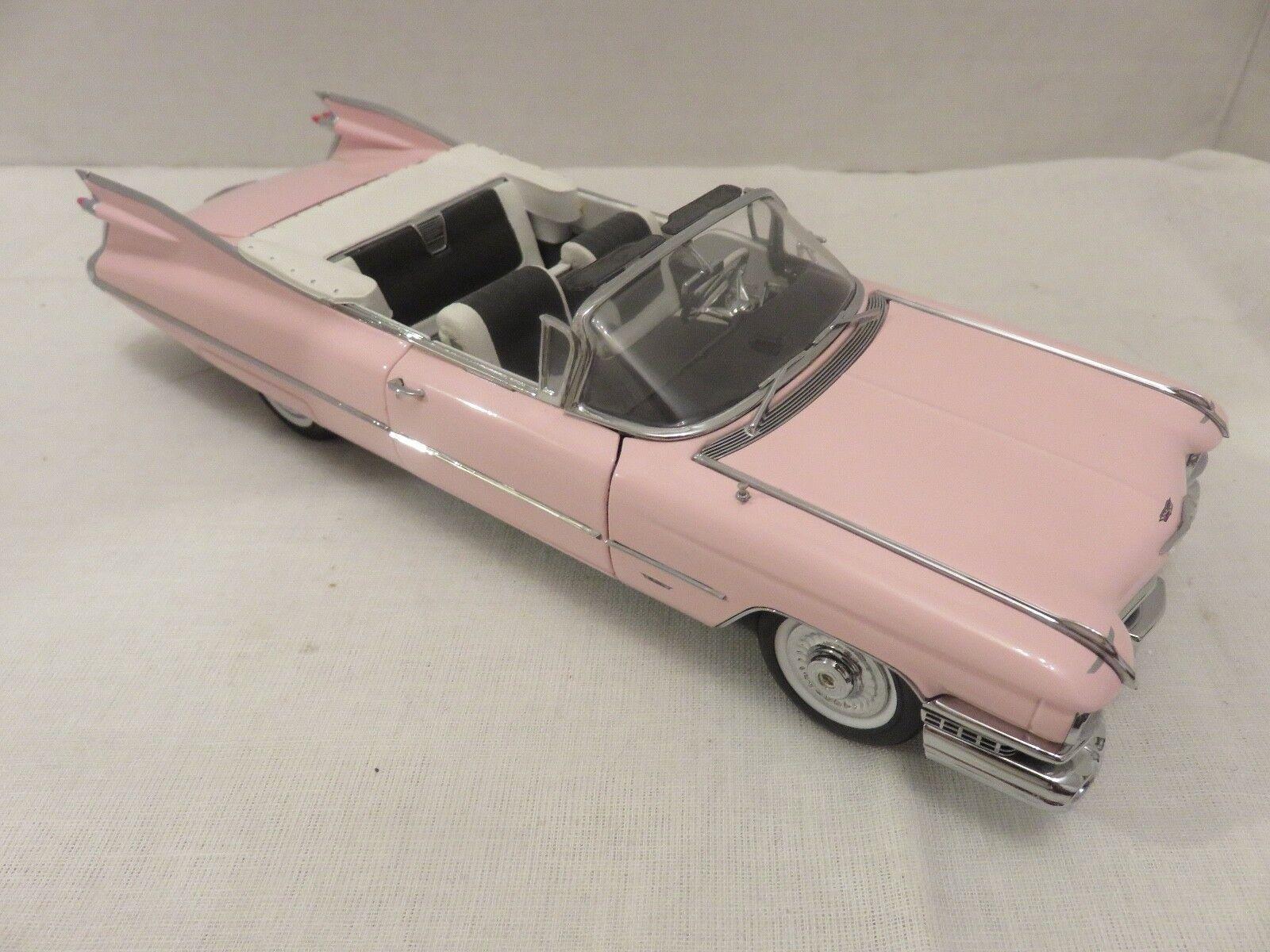 DANBURY  Comme neuf 1959 Rose Cadillac cabriolet 1 24 Die-cast métal Voiture de collection  dégagement jusqu'à 70%