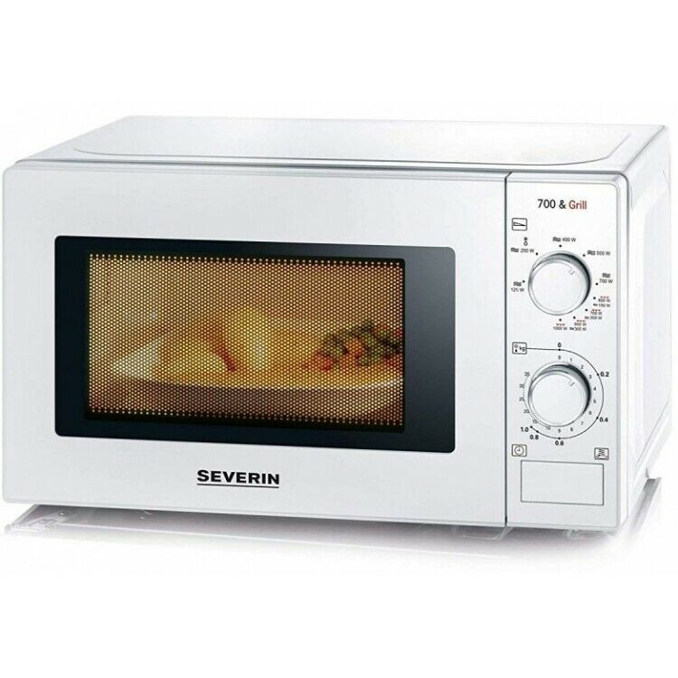 Severin MW 7891 Combi-Micro-ondes 700 W 20 L Fonction Grill Blanc