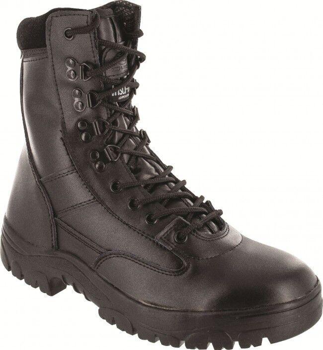 Bota De Cuero Completo Estilo Militar Delta Juventud