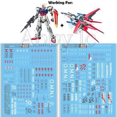 Decals Detail Up Water decal For Bandai PG 1//60 Strike Gundam buy1 get 1 free