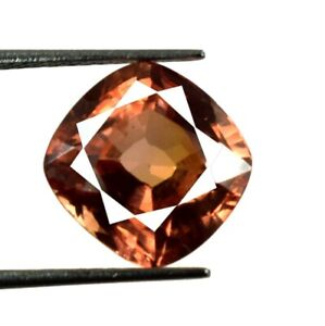 Cushion 8.70 Ct Natural Padparadscha Orange Sapphire Loose Gems Certified G1237