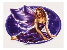 MOONLIGHT STAR GODDESS WICCA FAIRY STARLIGHT STICKER/VINYL DECAL  Selena Fenech