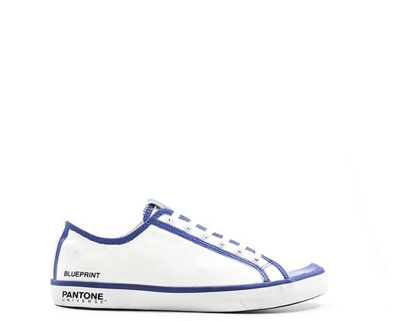 Schuhe PANTONE Mann BIANCO/BLU  P00037-500-70