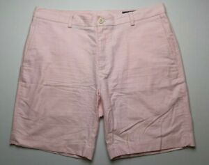 Vineyard-Vines-Mens-Breaker-Shorts-Size-36-Pink-Flat-Front-8-5-034-Inseam-Cotton