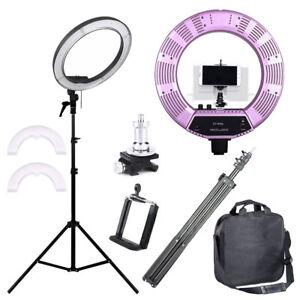 """18"""" LED Studio Ring Light Photo Video Lamp Light Kit For Camera & Phone"""