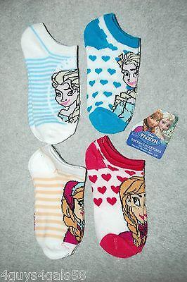 Toddler Girls Disney Frozen Princess Lot of 3 pair socks Size 4-5.5