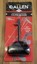 1 Allen Master Hunter Bow Caliper Release Lg/xl 360 Degree Rotating Head