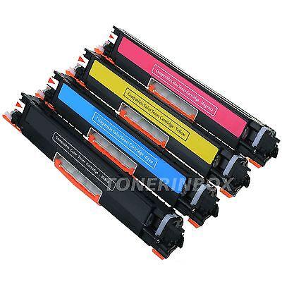 5PK Color Toner Set for HP LaserJet Pro M175nw 126A CE310A CE311A CE312A CE313A