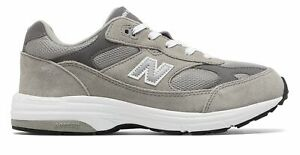 New-Balance-Kid-039-s-993v1-Big-Kids-Unisex-Shoes-Grey-with-White