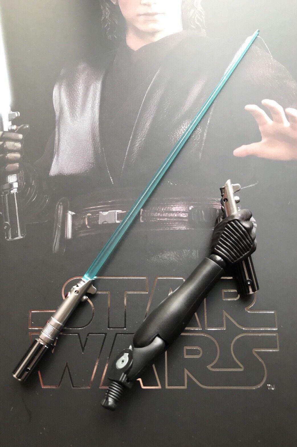 Heißes spielzeug mms437 rache der sith anakin skywalker, 1   6 lichtschwert w   arm