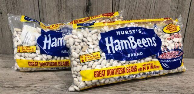 Hurst's HamBeens GREAT NORTHERN BEANS Ham Flavoring ...