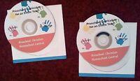 Preschool Bible-based Christian Curriculum Homeschool Or Daycare - 2 Cd Set