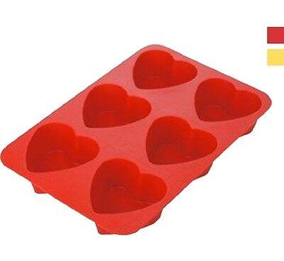 Industrioso + Vaschetta Formine Ghiaccio A Forma Di Cuore Regalo San Valentino Love Ti Amo