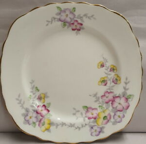 Vintage-Colclough-China-Bone-China-Side-Plate-c1939-45-Made-in-England-PN-6593