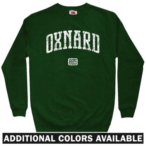 Crewneck S-3X Oxnard 805 California Men/'s Sweatshirt Gift College Condors CA