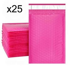 25 Bubble Mailers Pink 6x10 Packaging Shipping Supplies 0