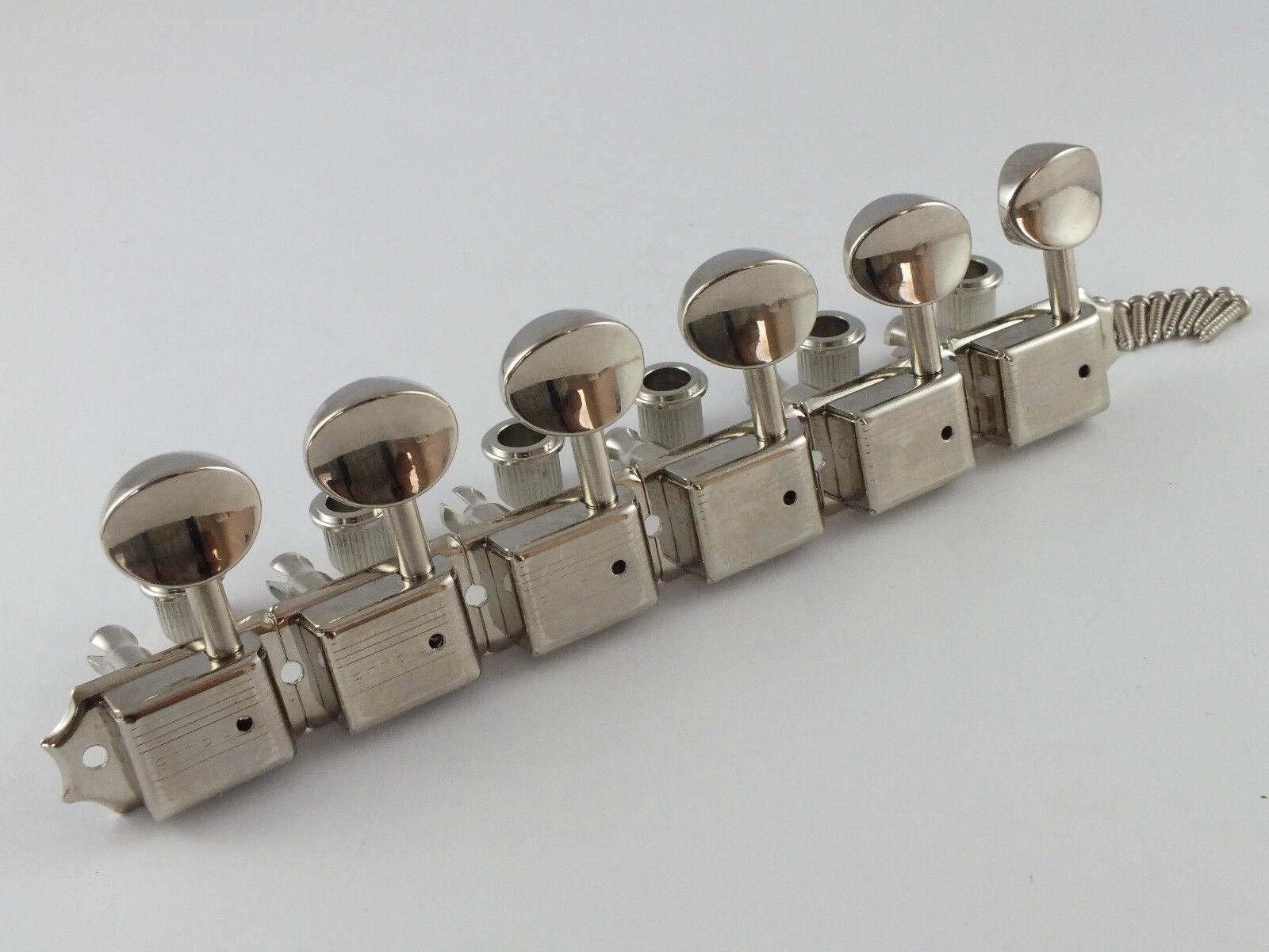 vendita scontata Mancino Mancino Mancino Kluson Vintage Nickel Meccaniche Singolo Linea SD9105MNR  più economico
