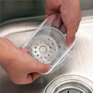 30X-pack-100X-pack-Sink-Drain-Hole-Trash-Strainer-Mesh-Disposable-Garbage-Bag-xj