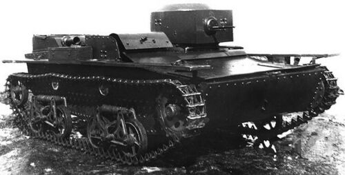 Eastern Express 35002 Soviet WWII Small Amphibian Tank T-38 MODEL KIT 1//35