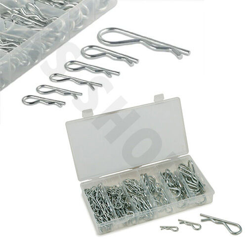 150 Piece Hair Pin Assortment Set Kit - 6 Popular Sizes with Storage Case New