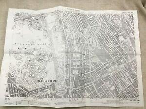 Antique-London-Map-City-Streets-Euston-Regents-Park-Victorian-England-1894