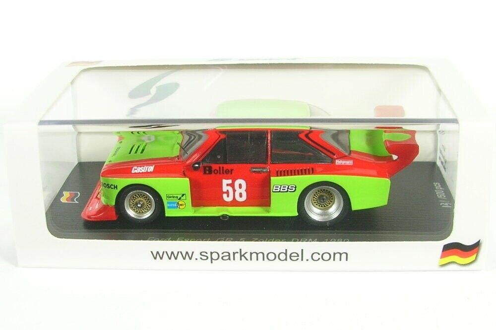 Ford Escort Gr 5 No.58 DRM Zolder 1980 (W.Boller) (W.Boller) (W.Boller) 240004