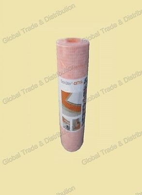 Ditra Membrane Schluter Tile Underlayment 54 sq ft Roll