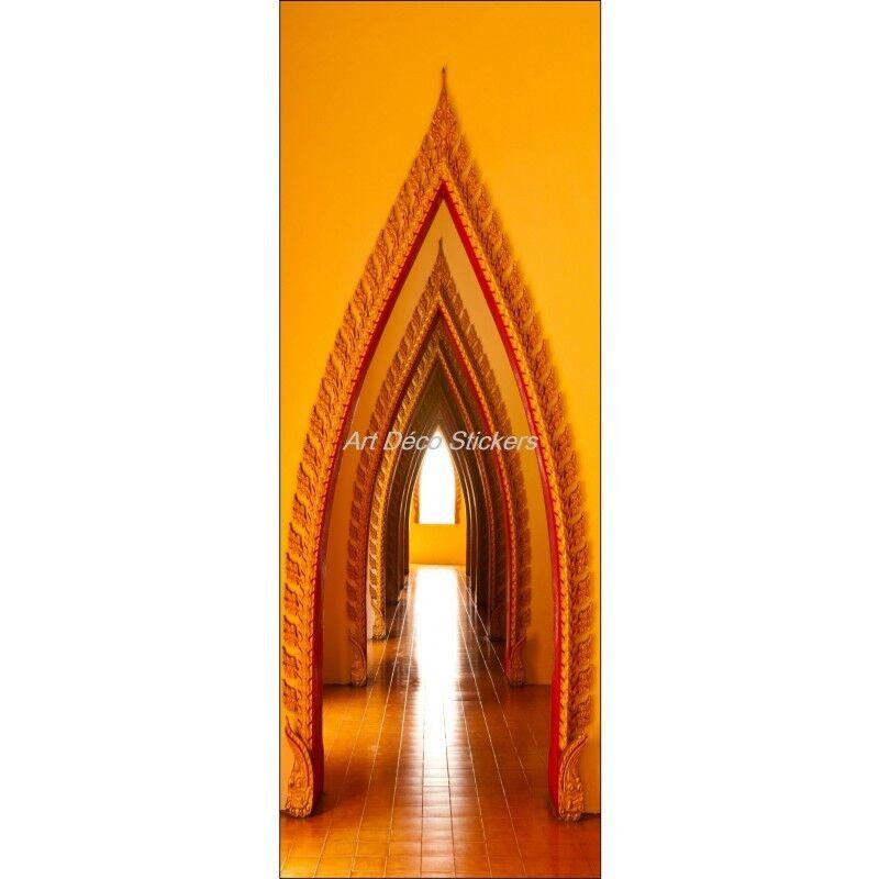 Cartel Póster para Puerta Trampantojo Ojo Oriental 579 Arte Decoración Pegatinas